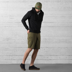Powell Short in Military Olive - wide-hi-res view.