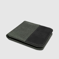 Nylon Bifold Wallet in  - small view.