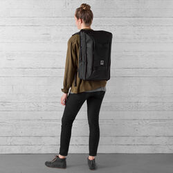 Hightower Backpack in All Black - wide-hi-res view.