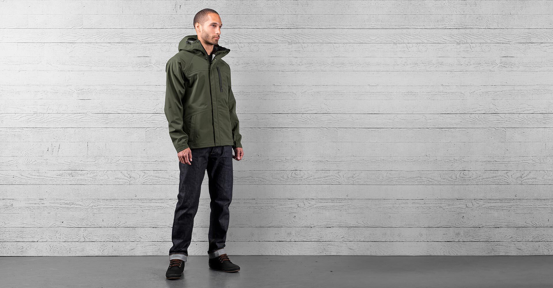 Storm Cobra 2.0 Jacket in Olive - wide view.