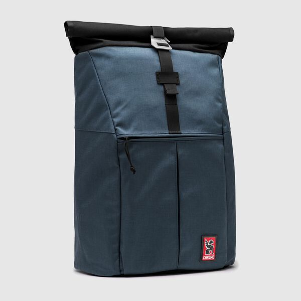 Yalta 2.0 Nylon Backpack in Indigo - medium view.