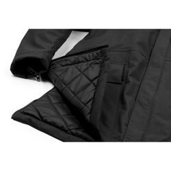 Storm Insulated Parka in Black - small view.