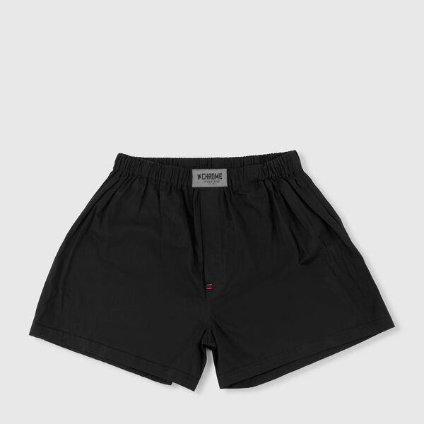 Woven Boxer - Final Sale in Black - medium view.