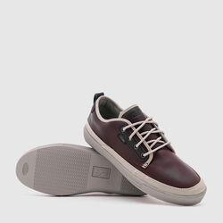 Ishak Sneaker in Amber Leather - small view.