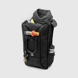 Hightower Backpack in All Black - small view.