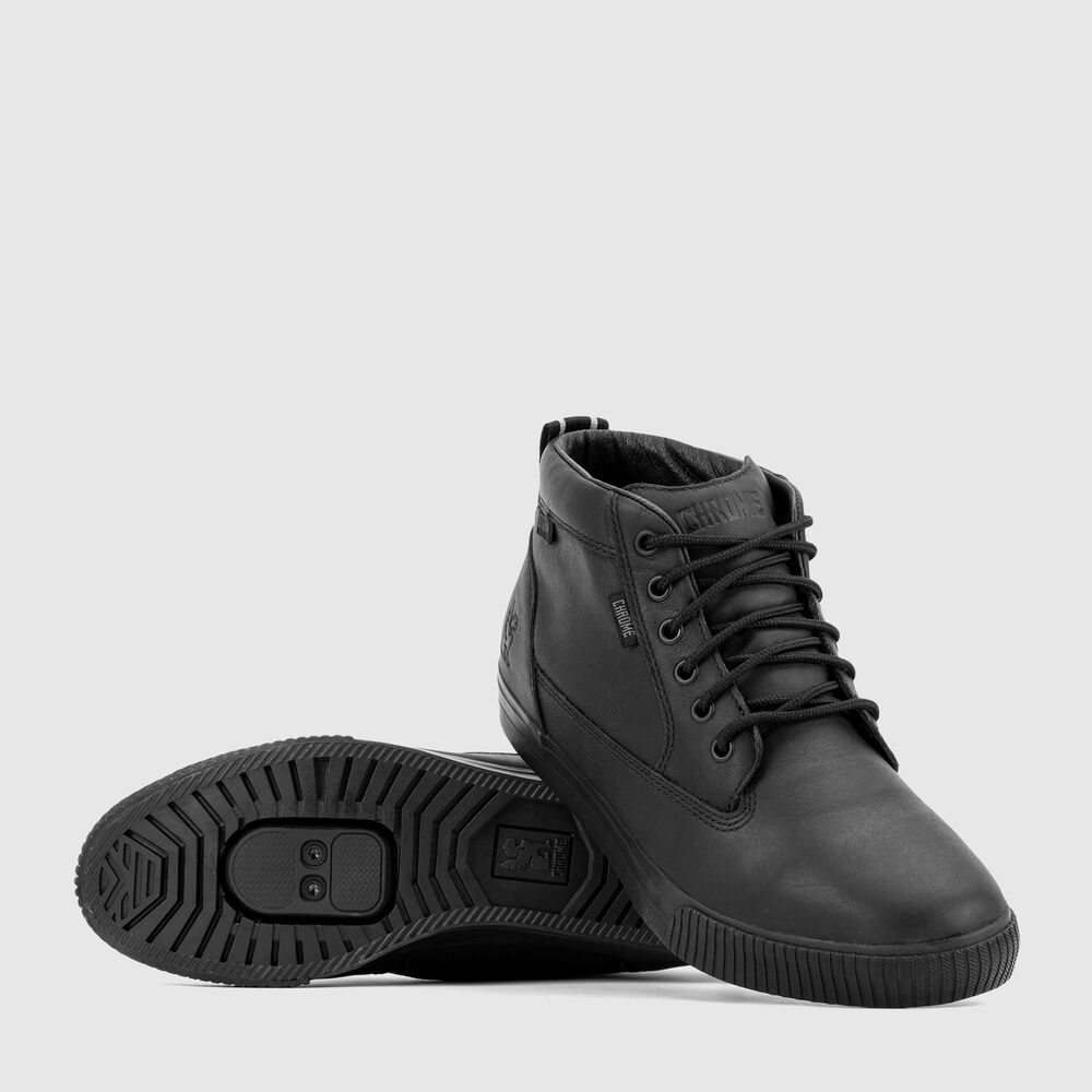 Storm 415 Pro Workboot in Black - large view.