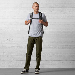 Barrage Cargo Backpack in Brick - wide-hi-res view.