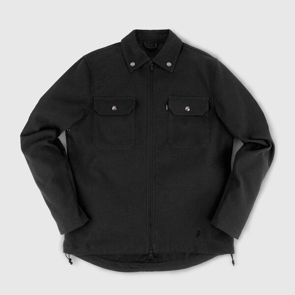 Ike Windshirt in Black - medium view.