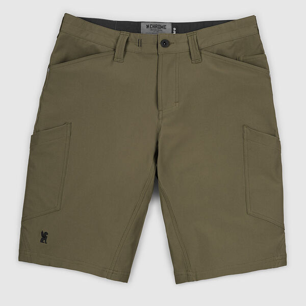 Powell Short in Military Olive - medium view.