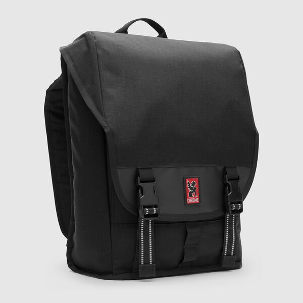 Soma Sling Messenger in Black - medium view.