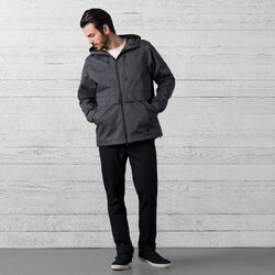 Skyline Windcheater Jacket in India Ink - wide-hi-res view.