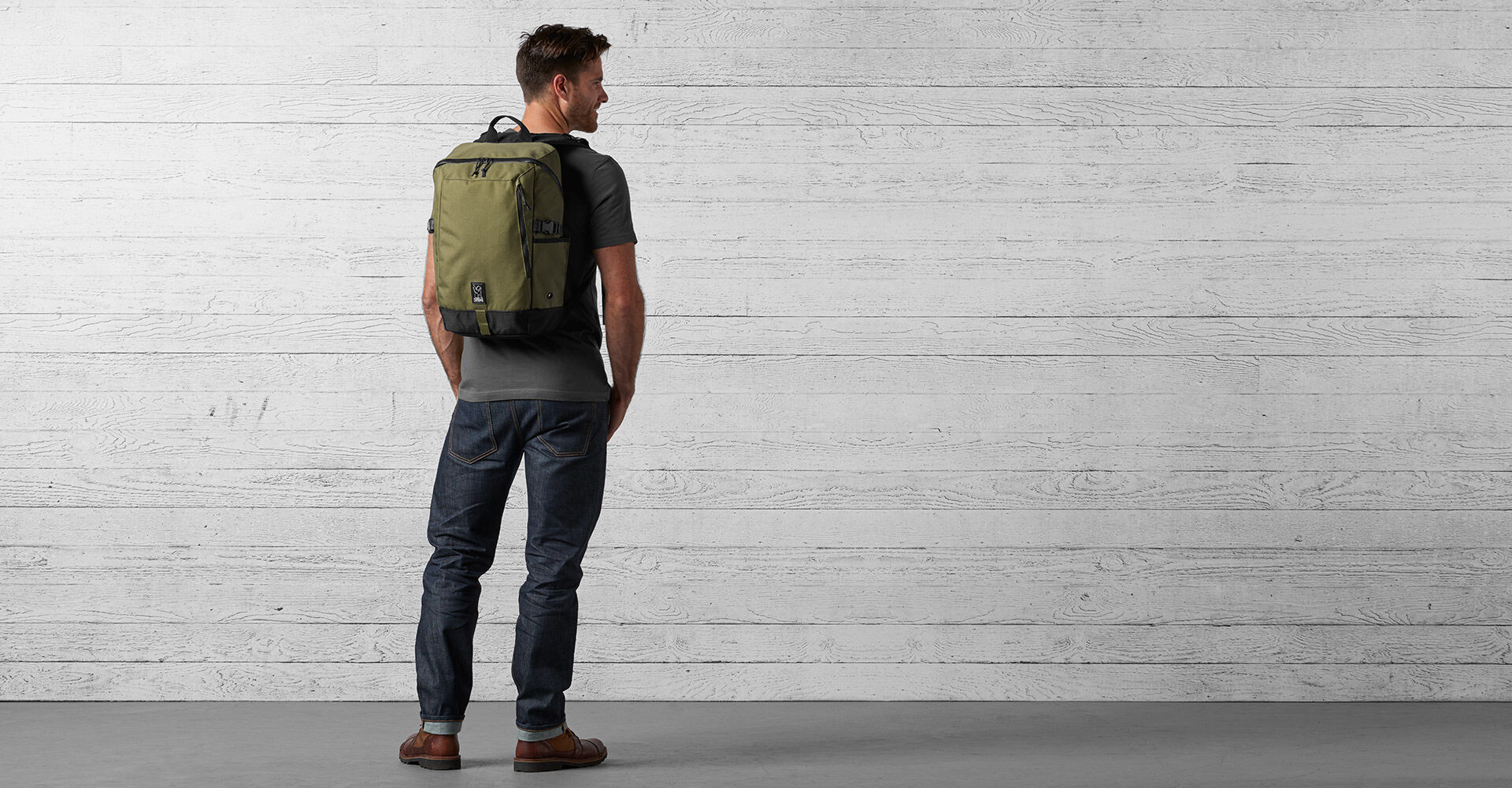 Rostov Backpack in Ranger - wide view.