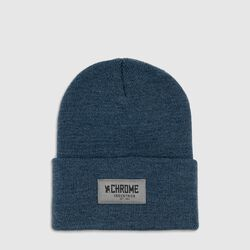Chrome 1995 Beanie in Navy Heather - small view.