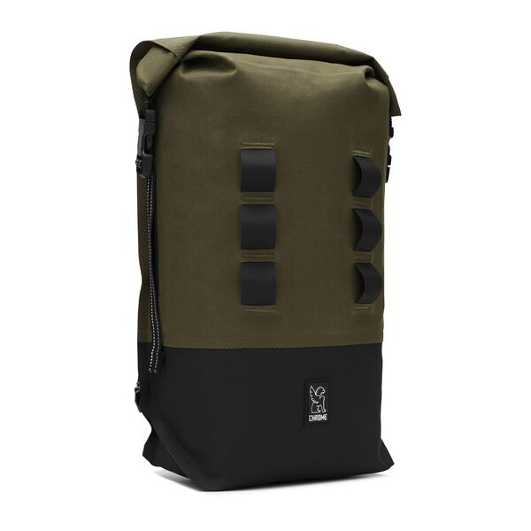 Urban Ex Rolltop 18L Backpack in Ranger / Black - medium view.