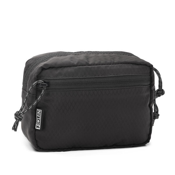 DKlein Cycling Hip Pouch in Black - hi-res view.