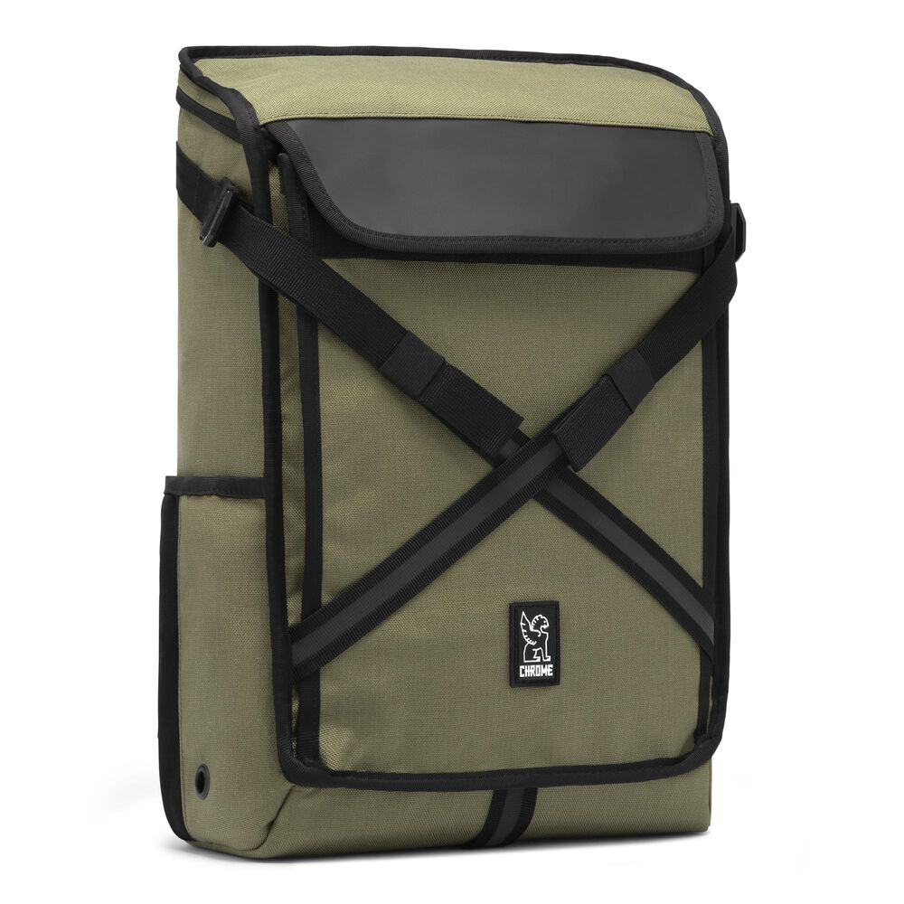 Echo Bravo Backpack in Olive - hi-res view.
