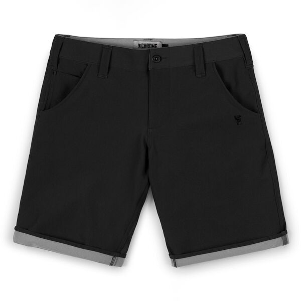 Natoma Short in Black / Castle Rock - medium view.