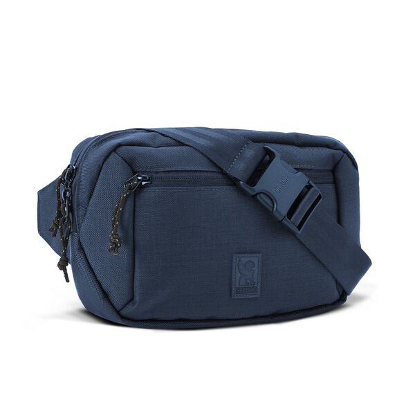 Ziptop Waistpack in Navy Tonal - hi-res view.
