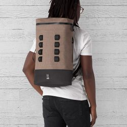 Urban Ex Gas Can 22L Backpack in Khaki / Black - hi-res view.