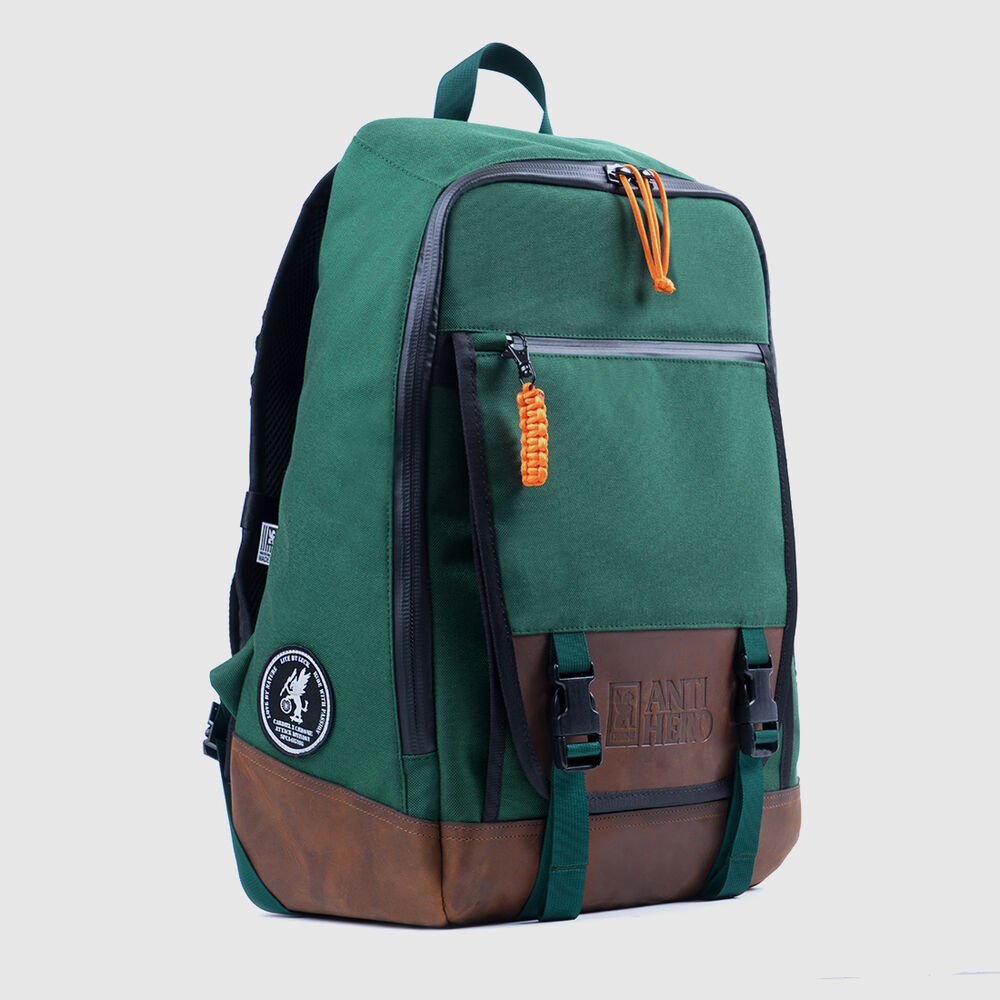 Antihero Fortnight Backpack in Forest Green - large view.