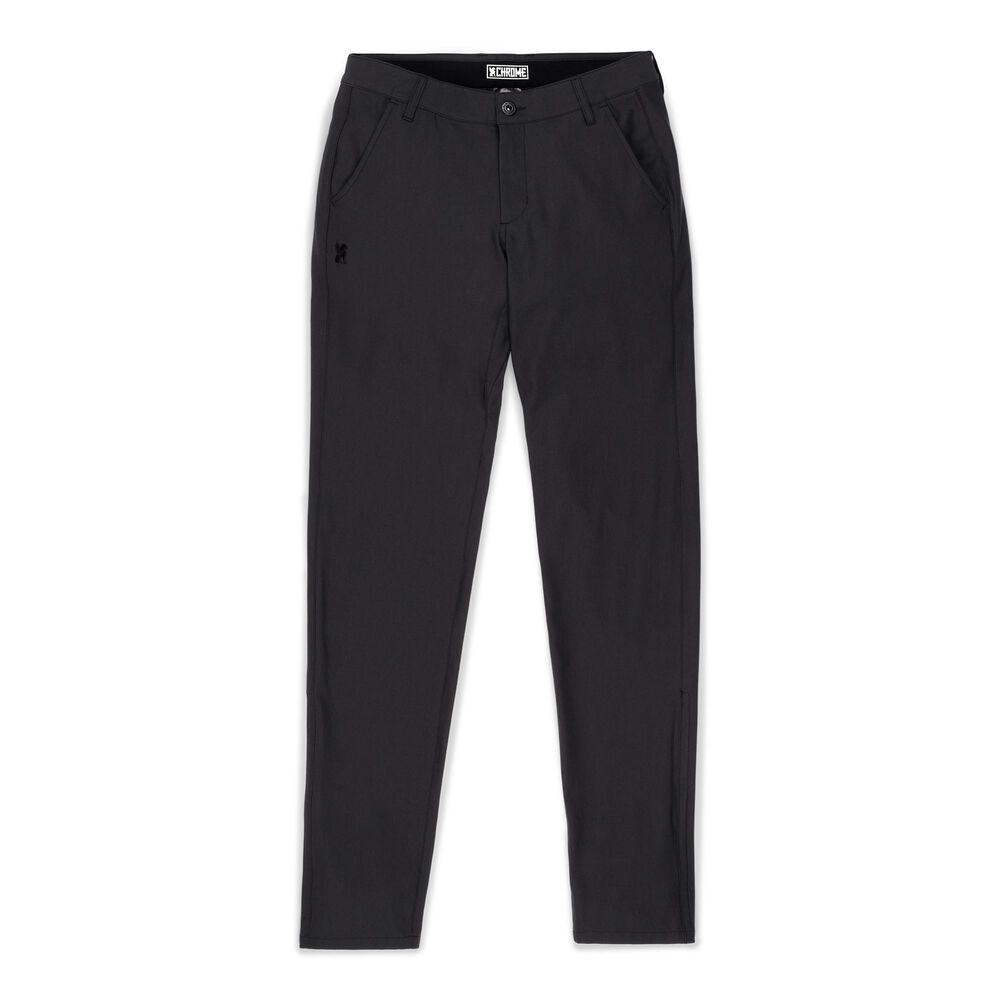 Women's Seneca Chino Pant in Black - large view.