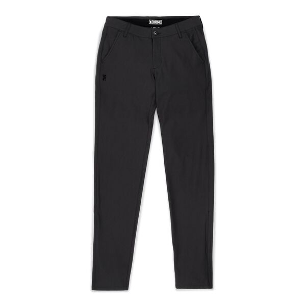 Women's Seneca Chino Pant in Black - medium view.