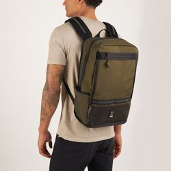 Hondo Backpack in All Black - hi-res view.