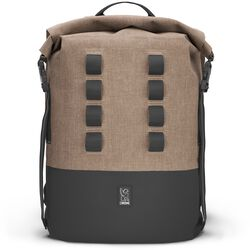 Urban Ex Rolltop 28L Backpack in Khaki / Black - hi-res view.