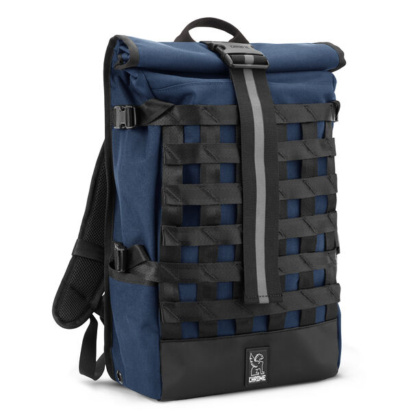 Barrage Cargo Backpack in Navy - hi-res view.