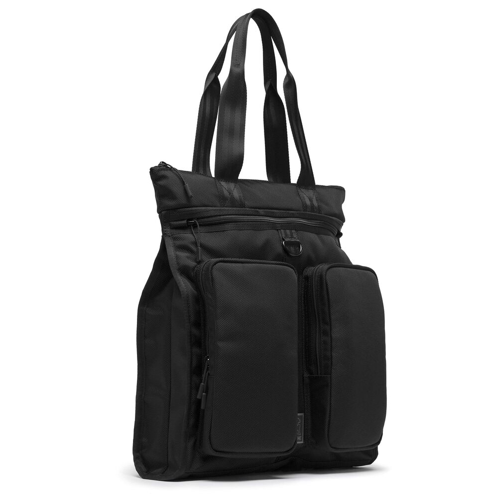 MXD Pace Tote Bag in All Black - hi-res view.