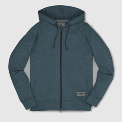 Hawthorne Zip Hoodie in Indigo - small view.