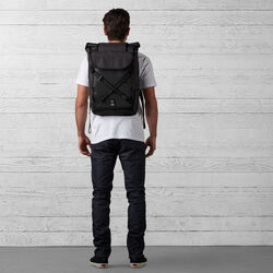 The Welterweight Bravo 2.0 Backpack in Charcoal / Black - wide-hi-res view.