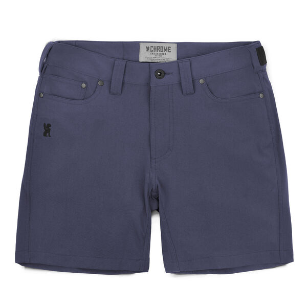 Women's Anza Short in Midnight - hi-res view.