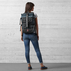 Barrage Cargo Backpack in Indigo - wide-hi-res view.