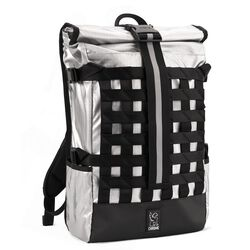 Barrage Cargo Backpack in Chromed - hi-res view.