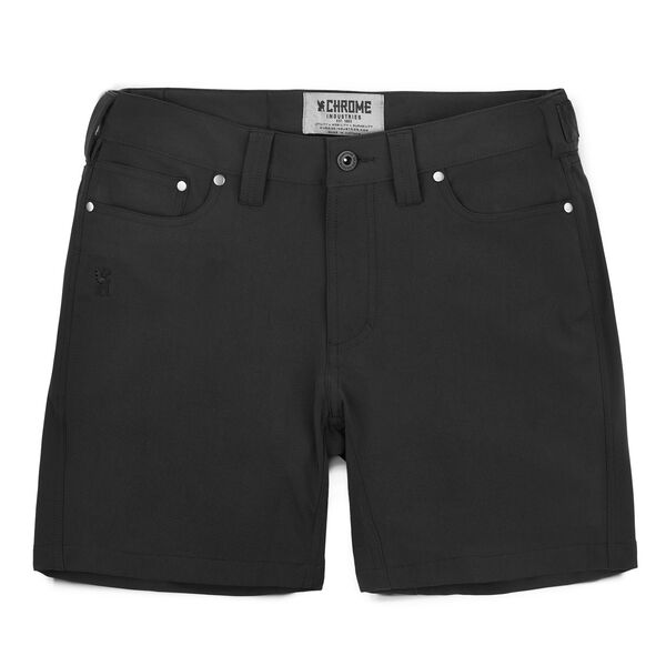 Women's Anza Short in Black - hi-res view.