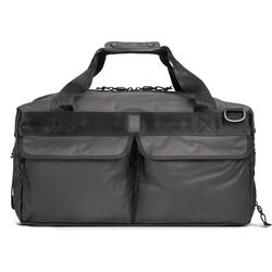 Surveyor Tarp Duffle Bag in Black Tarp - hi-res view.