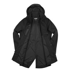 Stanton Rain Trench Jacket in Black - small view.