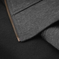 Cully Hoodie in Heather Black - hi-res view.