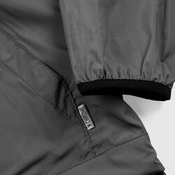Packable Buckman Anorak in Gargoyle Grey - hi-res view.