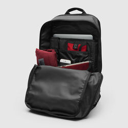 The Welterweight Hondo Backpack in Charcoal / Black - hi-res view.