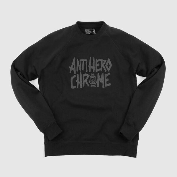 Antihero Crewneck Sweatshirt in Black - medium view.