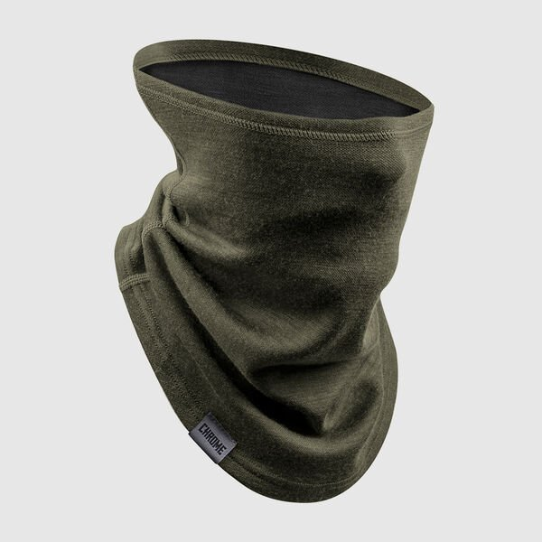 Merino Gaiter in Olive Leaf - medium view.