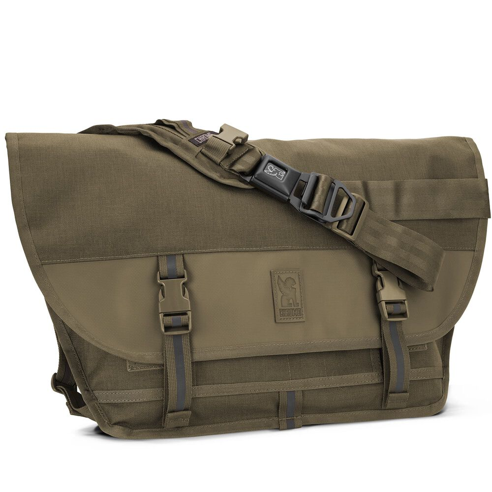 Citizen Messenger Bag in Ranger Tonal - hi-res view.