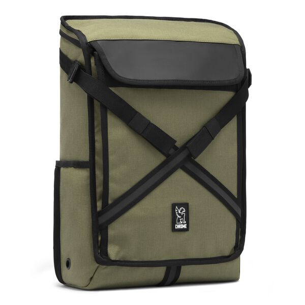 Echo Bravo Backpack in Olive - medium view.