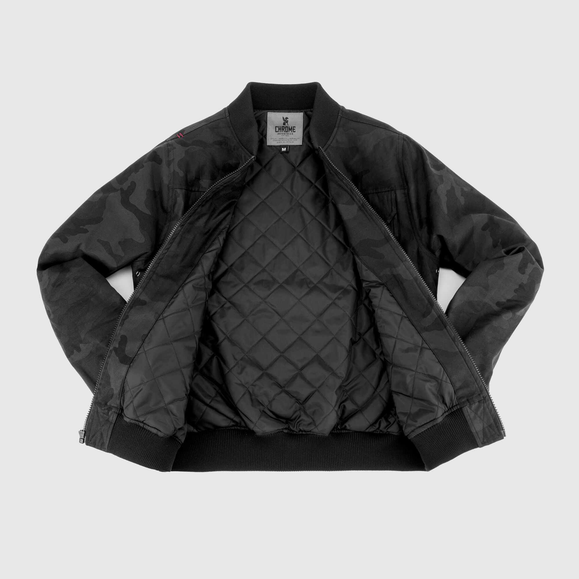 c4906d0229412 Utility Bomber Jacket - Form Meets Function - Long Sleeve | Chrome ...
