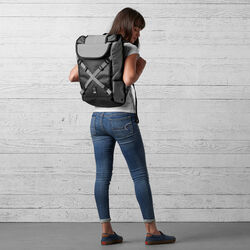Bravo 2.0 Backpack in Gargoyle Grey - hi-res view.
