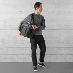 Urban Ex Rolltop 40L Tote Bag in Grey / Black - wide-hi-res view.