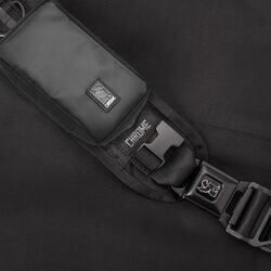 Tech Accessory Pouch in Black - hi-res view.