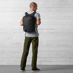The Cardiel Orp Backpack in Black - wide-hi-res view.